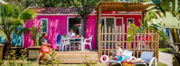 location mobil home provence