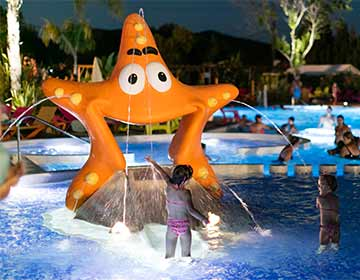 camping Hyeres avec animations enfants